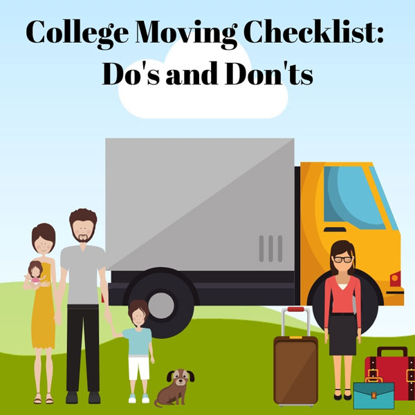 moving out of state for college checklist